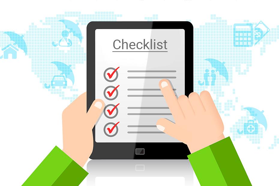 Checklist for No Claim Bonus